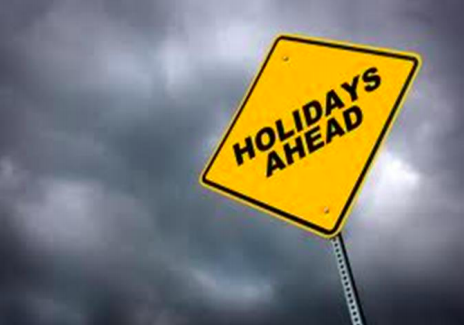 HOLIDAYS SIGN